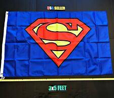 New listing Superman Flag Free First Class Ship Reg Batman Superwomen Joker Super man Banner