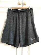Nike Dri Fit Mens Dark Grey Shorts Size medium