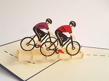 BICYCLE pop-up greeting card (beautiful & unique gift/decor/art)