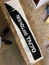 NEW HOLLAND  TN70 TRACTOR HOOD DECAL SET 🎯