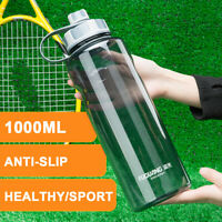 1L Large Water Bottle Drink Kettle Sport Training Workout Gym Yoga BPA Free Cup
