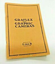 Graflex and Graphic Cameras 1904 Catalogue/Price List