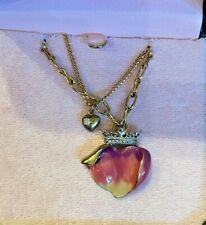 2008 JUICY COUTURE ROYAL ROSE NECKLACE. EXTREMELY RARE!!!