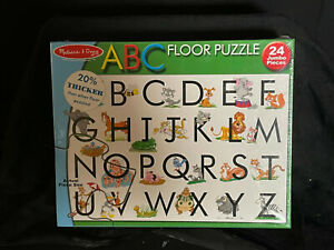 Melissa & Doug ABC Extra Large 24 Piece Floor Puzzle Item 441 NIB 2x3 Feet