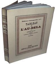 Frédéric Boutet : Tableau de l'Au-dela, ill. Edouard Goerg, NRF 1927