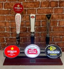 More details for 3 way beer pump/ beer font / pub / bar / mancave / estrella / stella / stromgbow
