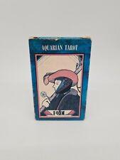 Aquarian Tarot von 1970 Morgan Press New York David Palladini RARITÄT Vintage