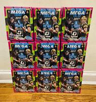 2017 PANINI DONRUSS OPTIC NFL FOOTBALL MEGA BOX MAHOMES WATSON PRIZM RC 40 CARDS