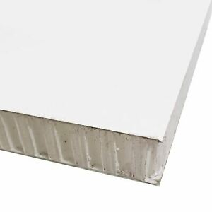 """FRP Honeycomb Panel, 1.000"""" (1"""") x 24 inches x 48 inches, White"""