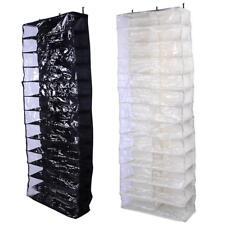 Hanging Shoe Organizer Storage Bag Closet Rack Space Saver Pockets Hanger Holder