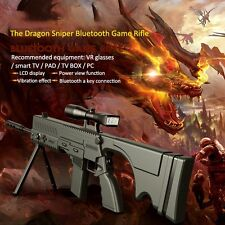 Dragon Sniper Bluetooth Game Rifle Gun LCD VR Glasses Smart TV Fr Android / IOS