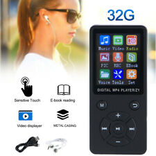 Portable MP3 Music Player MP4 Media FM Radio Hi-Fi W/ 180 mAh Battery