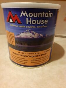 Mountain House Freeze Dried Food Mediterranean Vegetable Pasta BBE 2041