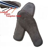 Leather Tungsten Steel Puncture Resistant Insole Safety Work Protection Shoe Pad