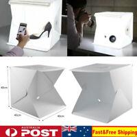 """LED Light Room Tent Photo Studio 16"""" 40CM Photography Lighting Kit Mini Cube Box"""