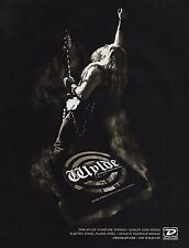 Black Label Society Zakk Wylde Signature Dunlop Icon guitar strings 8 x 11 ad 2b