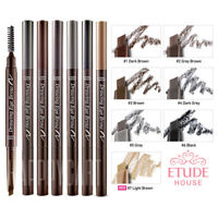 [ETUDE HOUSE KOREA] 7 Colors Drawing Eye Brow Brush & Pencil Fine Line NEW 0.25g