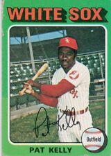 1975 Topps Mini #82 Pat Kelly Chicago White Sox (2018-0726)