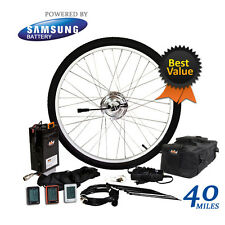 "Electric Bike Conversion Kit / Li-ion 20.8 Ah Included 24V 250W 26"" Front Wheel"