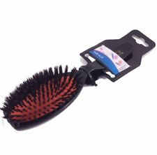 Hair Extension Brush by Sibel -- Oval Cushion Nylon Boar Bristles - Classic-76