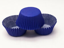 48 Royal Blue Standard Size Greaseproof Paper Cupcake Liners Baking Cups