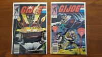 G.I. Joe A Real American Hero #s 72, 73  - Bagged & Boarded