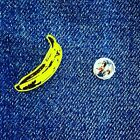 The Velvet Underground And Nico Pin Badge Andy Warhol Pop Art New York City