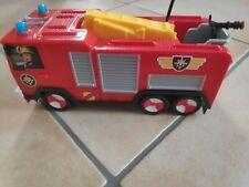 Feuerwehrmann Sam ferngesteuerter Einsatzwagen gebr., ohne Batterien