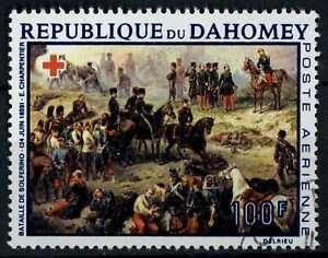 Dahomey 1968 SG#338, 100f Red Cross Paintings Cto Used #E82481