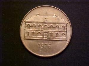 1976 Iceland 50 Kronur KM# 19 - Very Nice High Grade Collector Coin!-d3520dxx