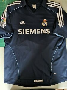 2005-2006 Real Madrid Away Shirt