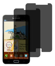2 x Privacy Pellicola Samsung Galaxy Note n7000 Privacy Pellicola Protezione Display