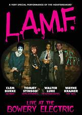 LURE BURKE STINSON & KRAMER 'L.A.M.F. Live at the Bowery' LP + DVD + CD BUNDLE!