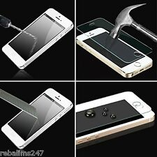 100% Genuine Tempered Glass Film Screen Protector for Apple iPhone 5S 5 5C - New