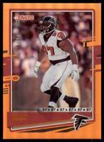 2020 Donruss Base Jersey Number #31 Grady Jarrett /97 - Atlanta Falcons