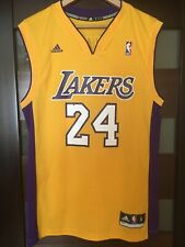LOS ANGELES LAKERS #24 BRYANT ADIDAS BASKETBALL JERSEY RARE VINTAGE NBA
