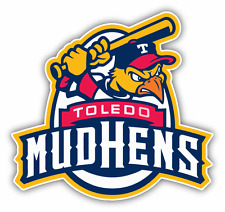 "Toledo Mud Hens MILB Minor Baseball MLB Bumper Sticker Decal 5"" x 5"""