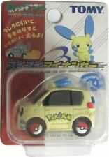 Takara Tomy Pokemon AG Black & White Minun Plusle Pull Back Car - Blue
