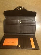 LOVCAT Paris Gold With Dark brown Trim/ Inside Wallet