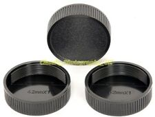 3x / THREE M42 fit Rear Lens Cap for Carl ZEISS Pentax Meyer-Optik Gorlitz Lens
