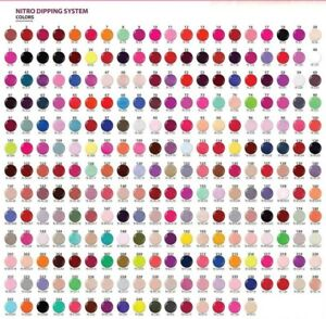 NITRO - Manicure 2-1 Dipping & Acrylic Powder Match SNS Colors - Choose Color