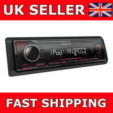 KENWOOD KMM-204 Mechless NO CD BLUETOOTH USB AUX IN Stereo Auto/Furgone Nuovo