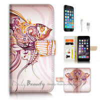 ( For iPhone 8 ) Wallet Case Cover P3185 Art Sea
