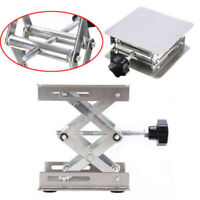 3.2* 3.2 Stainless Steel Lab-Lift Lifting Platforms Stand Rack Scissor Lab Jack