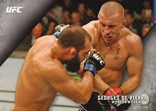 Georges St-Pierre UFC 2015 Topps Knockout 10x14 Card #20 #d 1/49 Jumbo Wall Art