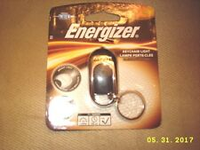 Energizer Keychain Light Cr2016 Silver color new sealed!