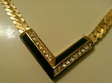 Lovely Vintage CHRISTIAN DIOR Chevron Necklace