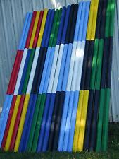 Horse Jumps Mix & Match 10ft Center Colored CUT Wood Rails - Color Choice