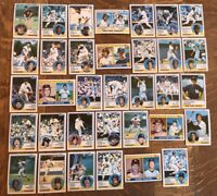 1983 NEW YORK YANKEES Topps COMPLETE Team Set 34 Cards NETTLES GOSSAGE WINFIELD!