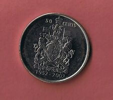 2002 CANADIAN HALF DOLLAR .50¢  FIFTY CENT PIECE  COIN CANADA GOLDEN JUBILEE
